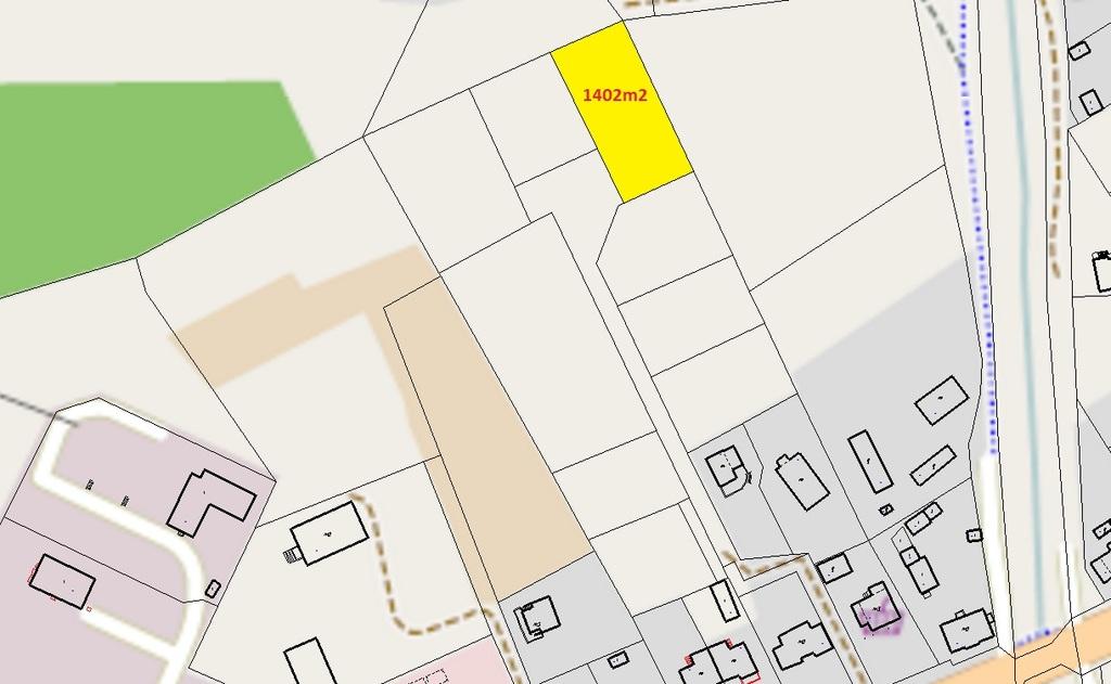 DZIAŁKA BUDOWLANA W ŁUPOWIE !!!  Na sprzedaż działka o powierzchni 1402 m2 o płaskim ukształtowaniu i regularnym ...
