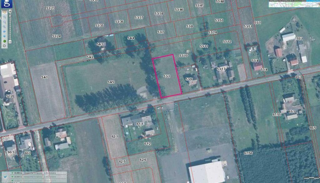 Polecamy Państwu na sprzedaż działkę rolną o pow. 2000 m.kw. położoną na osiedlu Poznańskim w Gorzowie ...