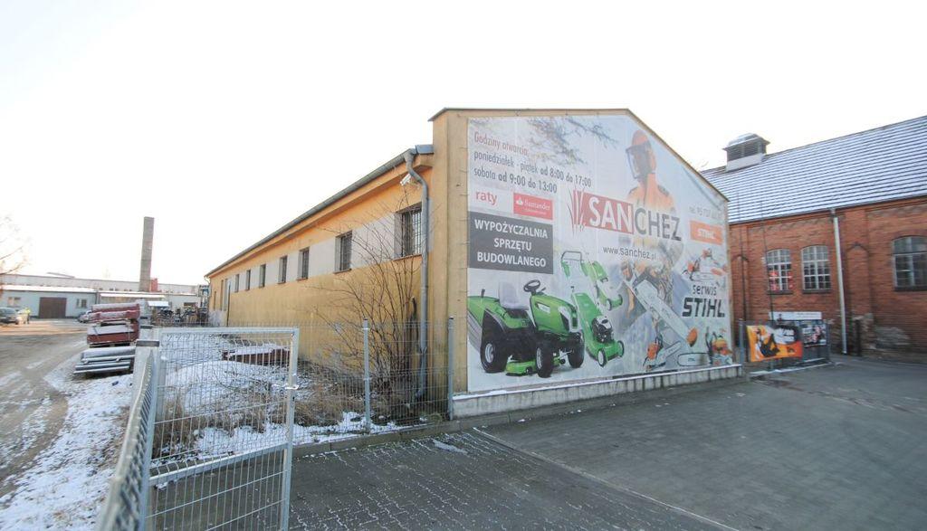 Nieruchomość usługowo-magazynowo-handlowa o pow. użytkowej 297,11 m2 w Skwierzynie, położona na działce o pow. ...
