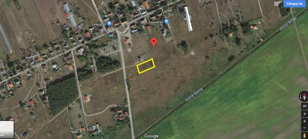 Atrakcyjne działka budowlana o pow. 1.630 położona w Dzierżowie oddalonym o ok. 10 km od Gorzowa Wlkp.  Działka ...