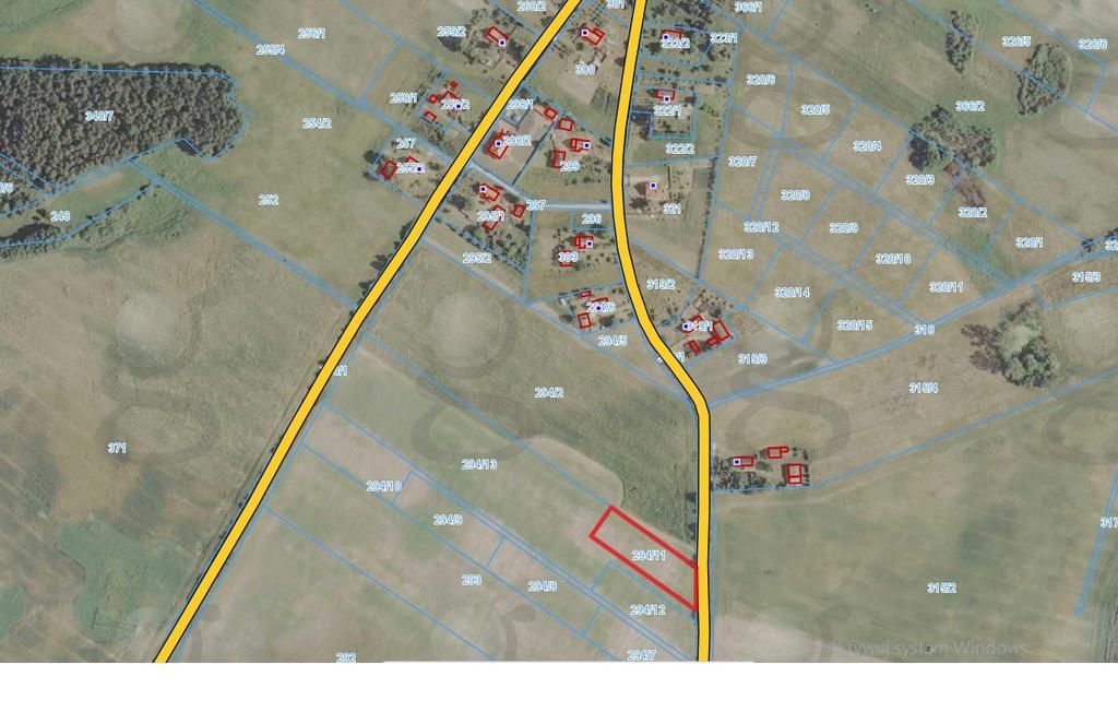 Działka położona w gm. Myślibórz, miejscowość Myśliborzyce - kolonia, o pow. 3.001m2 z wydanymi warunkami ...